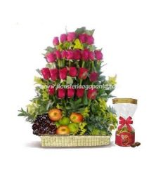 Planter with Fruit