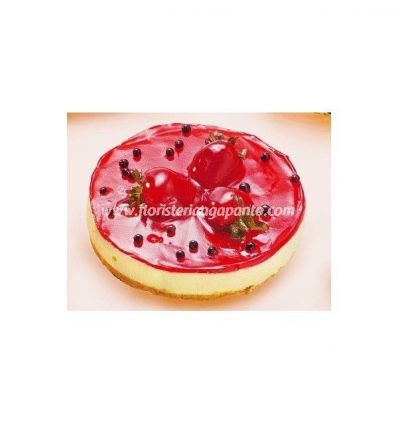 Strawberry Cake Chorreado