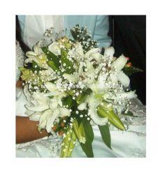 Bouquet en lirios